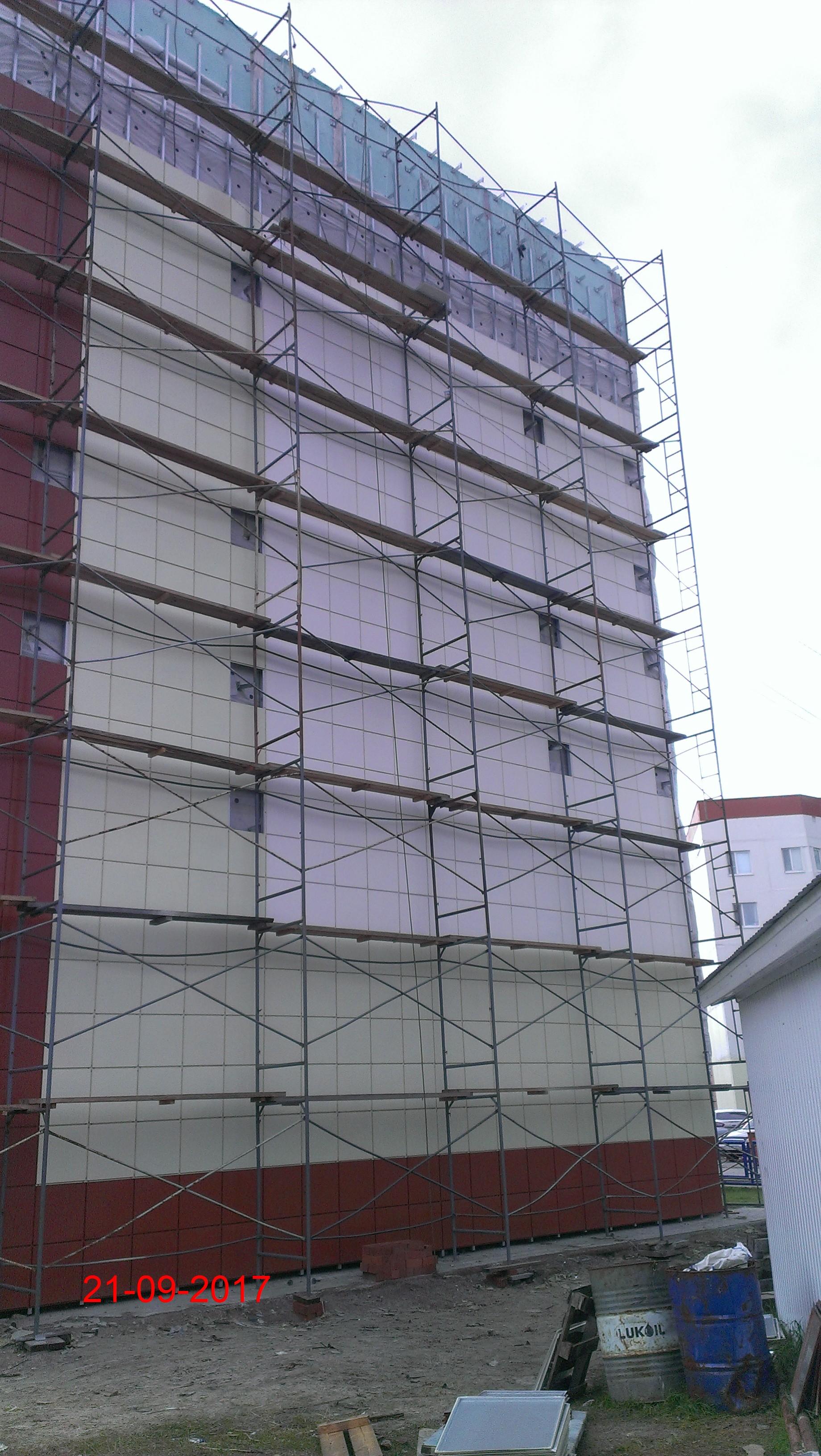 Стоимость ремонта фасада в спб